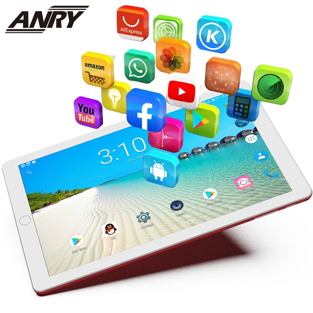 ANRY 1006 10 inch 3G Phone Call Tablets Android 7 0 Quad Core Tablet Pc Dual