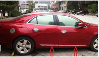 Stainless steel Body door Side Molding Trim Chrome For 2013 Chevy Malibu