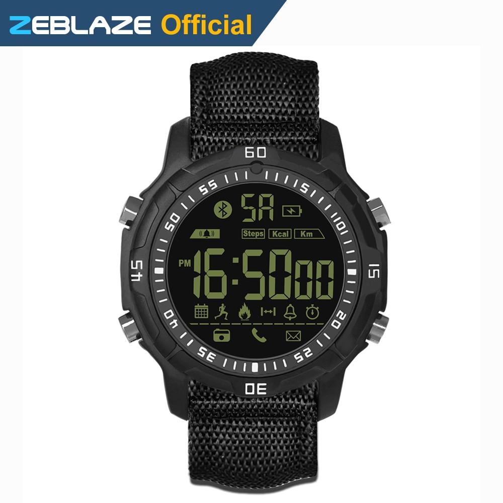 New Zeblaze VIBE 2 Sports Smartwatch 5ATM Waterproof 540 Days Stand by Time Sports font b