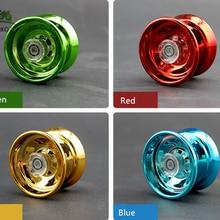 4 цвета волшебный yoyo отзывчивый Высокоскоростной Алюминиевый сплав йо-йо токарный станок с ЧПУ со спиннингом для мальчиков девочек детей
