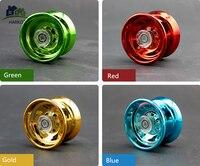4 cores magia yoyo responsivo de alta velocidade da liga de alumínio yo-yo torno cnc com fiação corda para meninos meninas crianças
