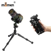 Mamen Professional Travel Portable Camera Tripod 18-46.5cm 6kgs Bear Full Foldable SLR DSLR Vedio Camera Mini Tripod Monopod