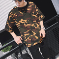 t shirt 2016 summer t-shirt men camouflage tshirt homme plus size COTTON tops tee size S M L XL XXL