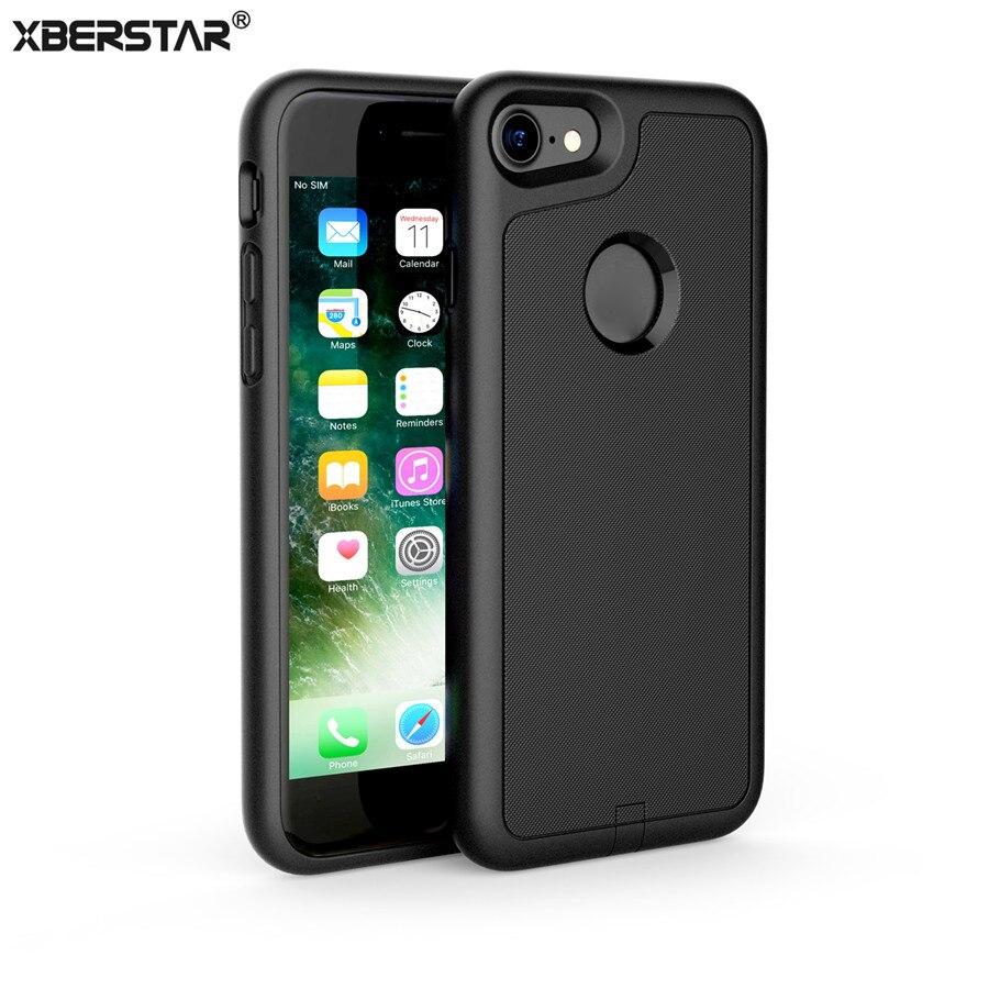 Цена за Случаях для iphone 7 ци беспроводной приемник case cover беспроводное зарядное устройство питания зарядка передатчик для iphone 7 plus защитной оболочки