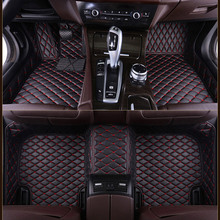 LUNDA Custom fit car floor mats for Porsche Cayenne SUV 911 Cayman Macan Panamera 3D car styling heavy duty carpet floor liner