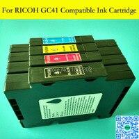 1 Set עם מלא דיו סובלימציה לricoh GC41 GC 41 עבור הקושר מדפסת Ricoh SG3100 SG2100 SG2010L SG3110dnw