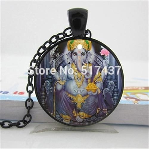 Amazon.com: Davitu HZ-A485 New Ganesha Statue Necklace