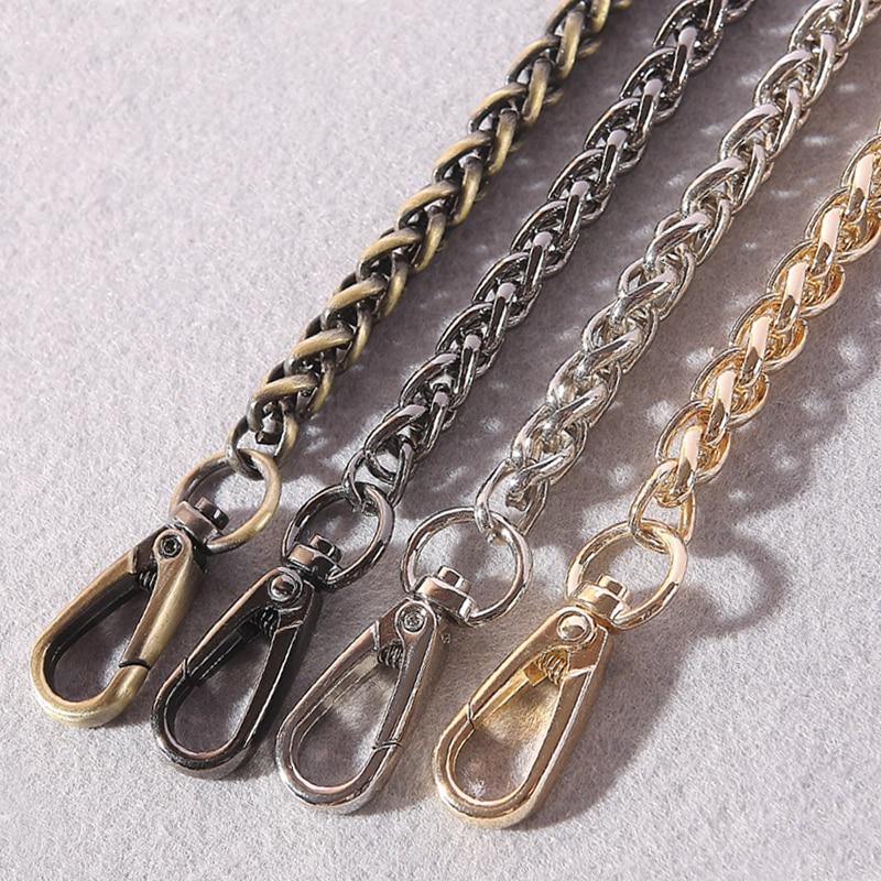 00624b6fdb7 DIY 40 cm-140 cm cadenas de repuesto de Metal correas de hombro para bolsos