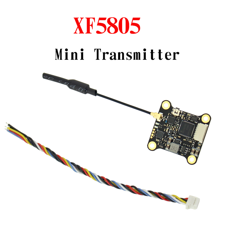 Upgrated MINI XF5805 5.8Ghz FPV Transmitter 25mW 100mW 200mW 300mW 37CH 2KM With IPEX Connector Support Smart Audio Pitmode FPV