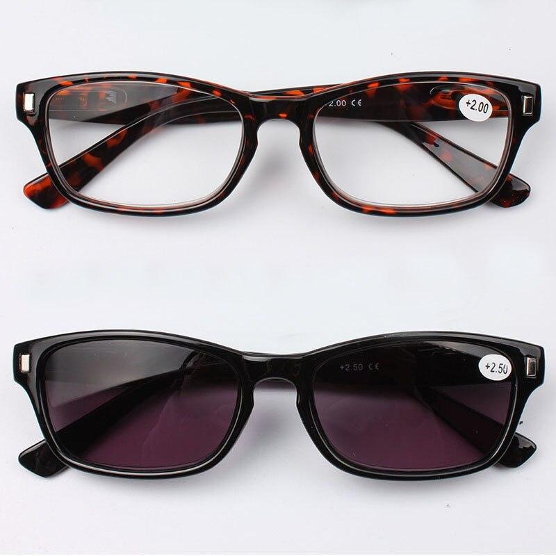 Chashma marca Sun vidrios de lectura lente gafas de sol moda mujeres Tint lentes  gafas para leer con la bisagra del resorte a12e25d4aa