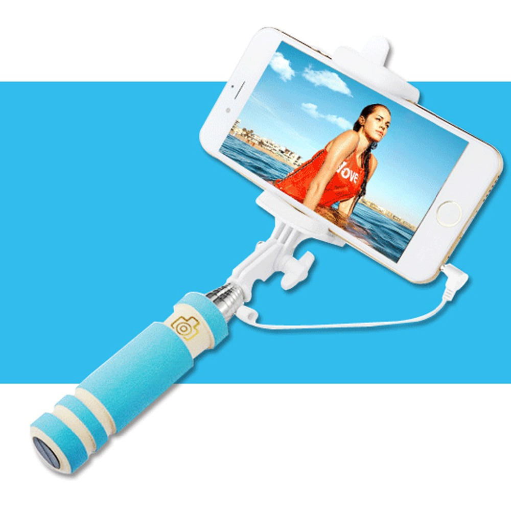 Universal Selfie Stick For iPhone Samsung Xiaomi Huawei HTC Mobile