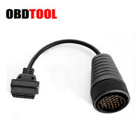 37Pin To 16 Pin OBD2 Cable For MAN Car Diagnostic Connector Obdii Obd2 37 Pin 16Pin OBD 2 Truck Scanner Adapter Cord JC10