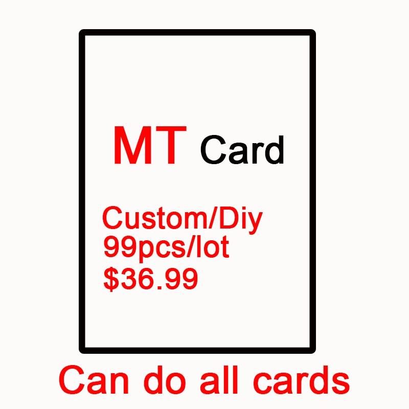 DIY Custom 99pcs Per Set Magical Proxy Mt Card,the Lion Recommend,gathering Preset Hologram,dual Lands,P9