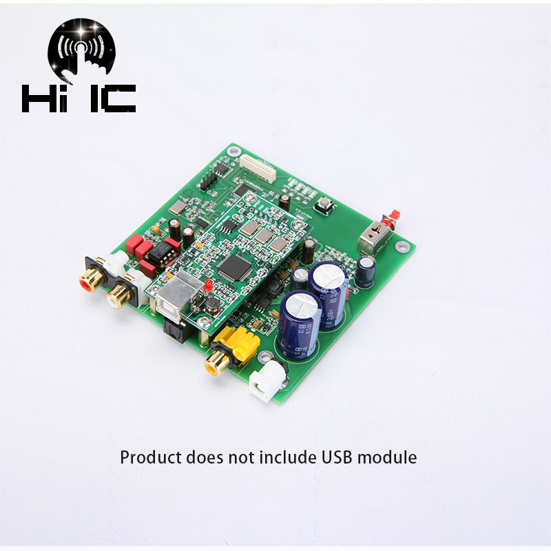 Es9038 Q2m I2s Dsd Optical Coaxial Input Decoder Usb Dac Headphone Output Hifi Audio Amplifier Board Module Audio & Video Replacement Parts