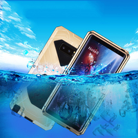 Daily Waterproof Case For Samsung Galaxy Note 8 Luxury Shockproof Hard Metal Silicone Cover Full Protection