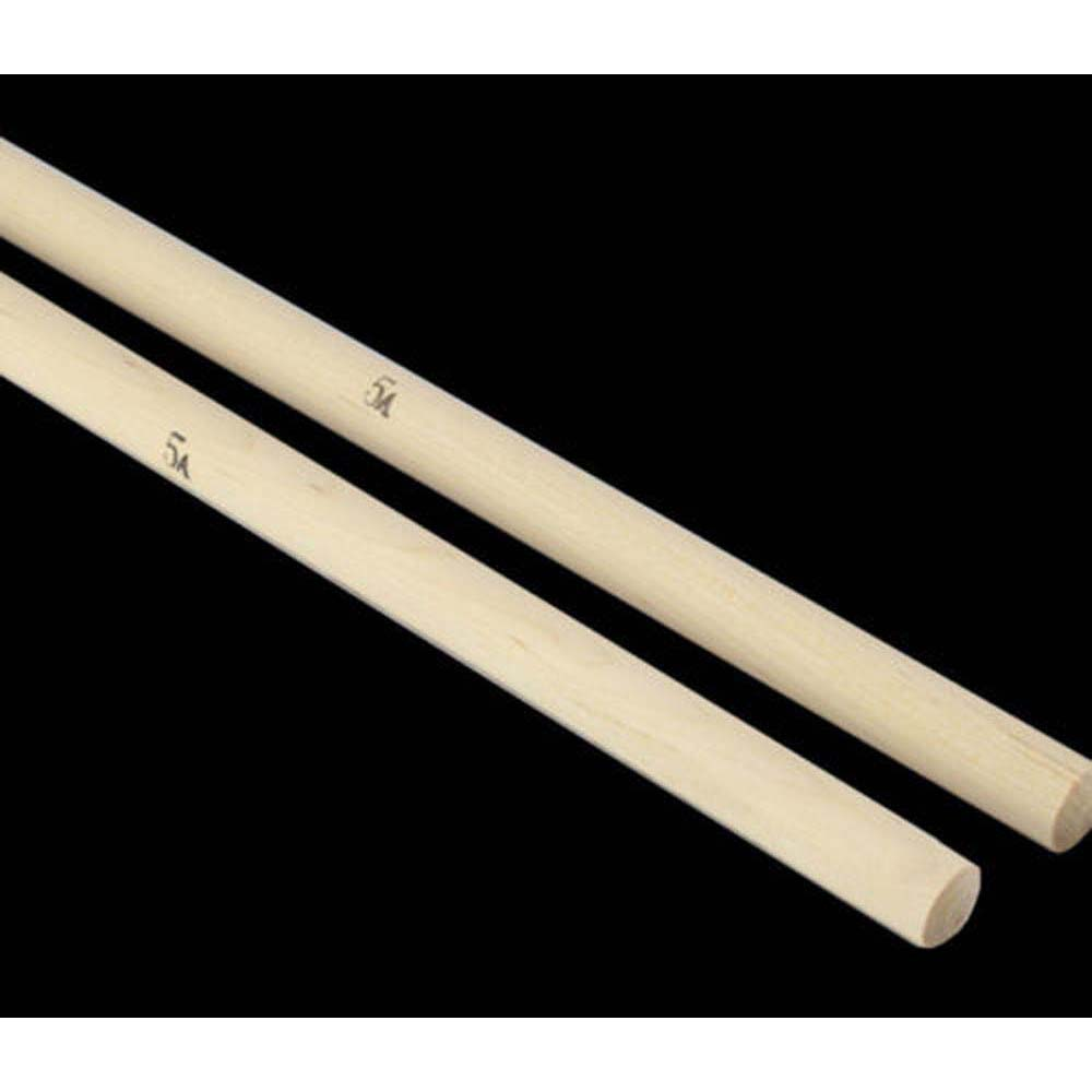 Power 1Pair Lightweight Endearing Music Band Maple Wood Oval Tip Drum Sticks 5A Professional Drum Sticks Drum Sticks One Pair