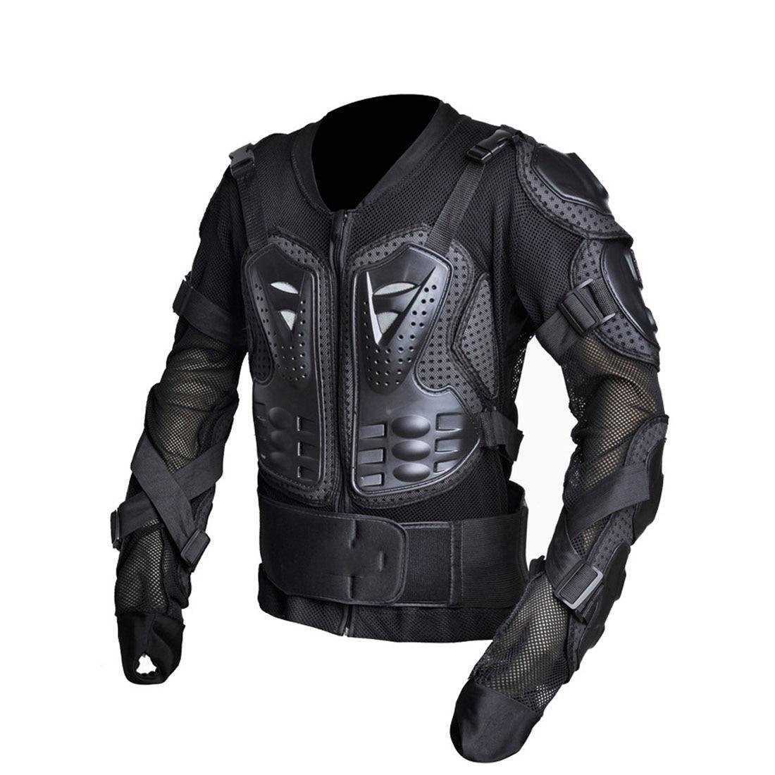 Dongzhen moto veste moto armure Protection Motocross vêtements veste croix dos/rouge armure protecteur course Automobile