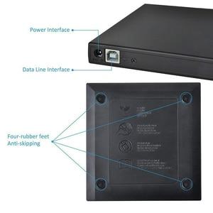Image 5 - Lecteur de flou externe USB 2.0 lecteur DVD Blu ray 3D 25G 50G BD R BD ROM CD/DVD RW graveur graveur enregistreur pour ordinateur portable