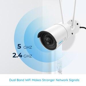 Image 3 - [2 Gói] Reolink 2.4G/5Ghz Wifi Camera 4MP Onvif Có Hồng Ngoại Quay Ban Đêm IP66 Chống Nước Ngoài Trời giám Sát Trong Nhà RLC 410W