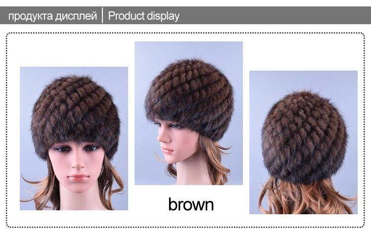 Hats Women Russian Beanie 6