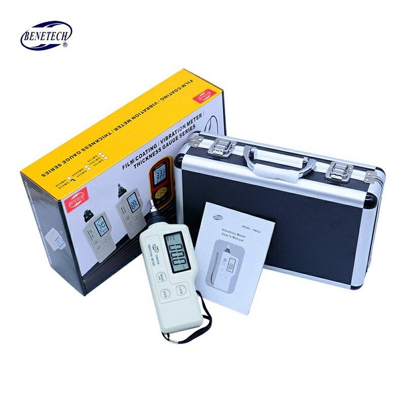 GM63A Numérique Vibration Meter Mécanique détecteur de défaut Vibrometer Analyzer Accélération Vitesse Équipée avec AC Sortie
