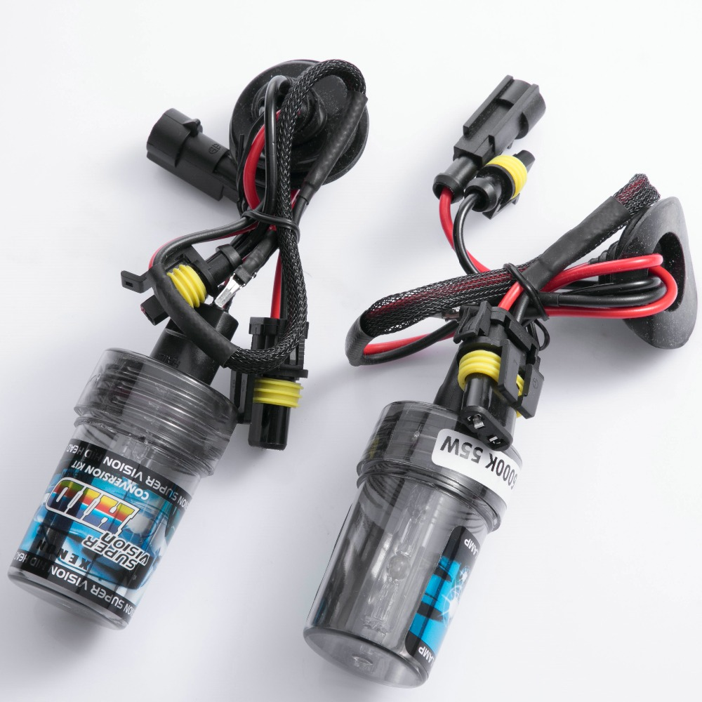 2pcs HID Xenon bulb 35w 55w 3000k 4300k 6000k 8000k 10000k 12000k H1 H3 H7 H11 HB3 HB4 H27 D2S 9012 880 881 H4 D2H car styling 35w xenon hid bulb headlight lamp auto car d2s 4300k 5000k 6000k 8000k 10000k 12000k