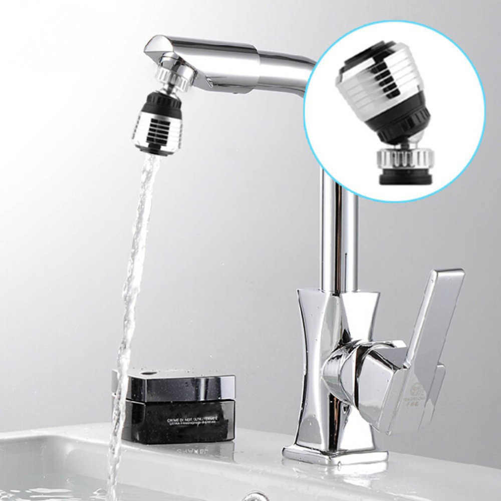360 Rotate Faucet Nozzle Filter Adapter Tap Aerator Spray Water Saving Water Bubbler Swivel shower Head Device For Kitchen Bath