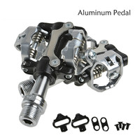 WELLGO MTB Touring Bike Bicycle Clipless Light Pedals 9 16 CR MO Spindle Sealed Cleats Compatible