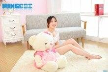 big size lovely teddy bear toy font b plush b font princess pink skirt teddy bear