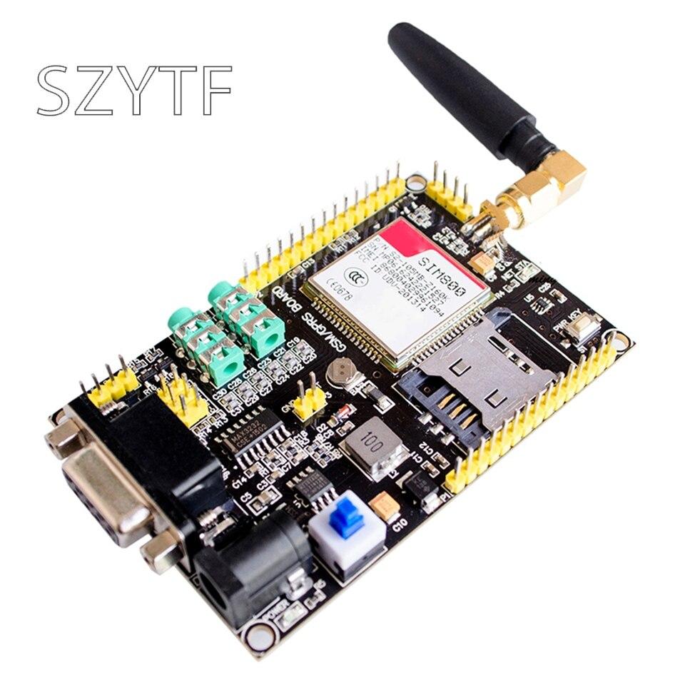 Sim800 gsm gprs módulo stm32 sim900a placa de atualização módulo gps