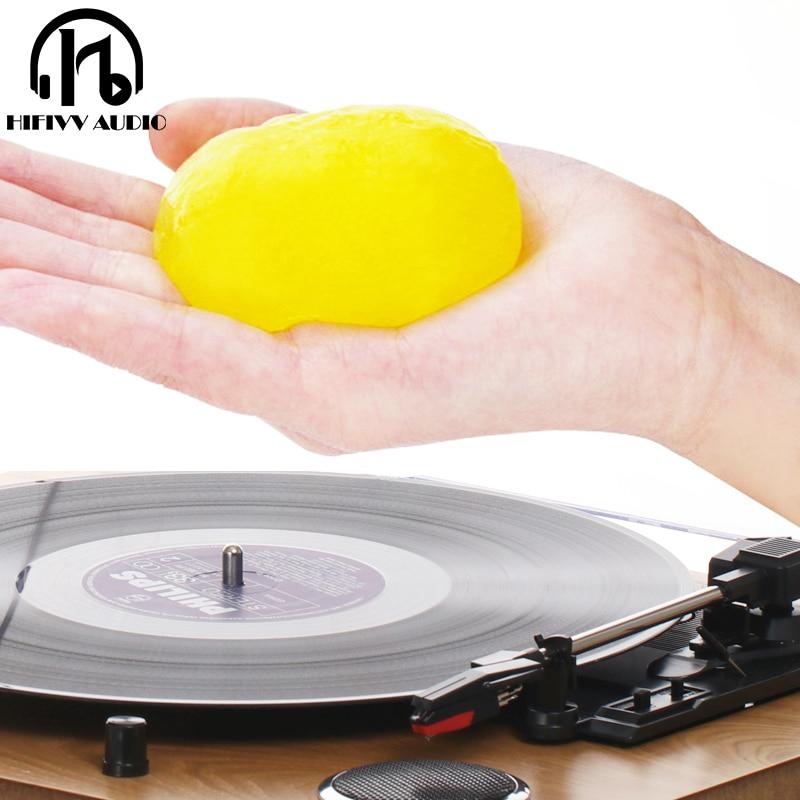Супер чистый скользкий гель для LP Виниловая пластинка клавиатура чистая пыль мягкий резиновый виниловый картридж волшебный пылеочиститель соединение