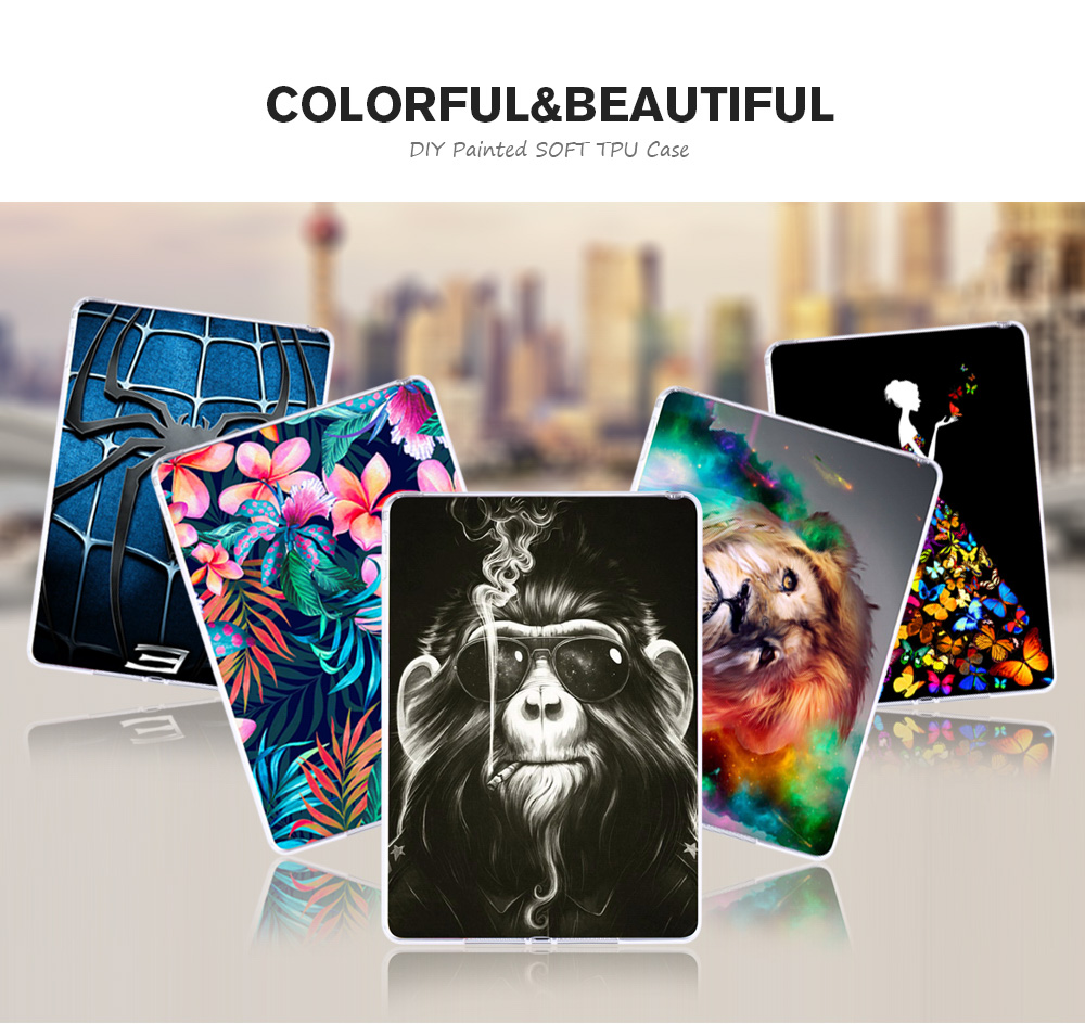 Silicon Tablet Cases For Huawei Mediapad T1 10 Honor Note 9.6 T1-A21W T1 10 T1-A21L T1-A23W/L 9.6 Inch Soft TPU DIY Tablet Case