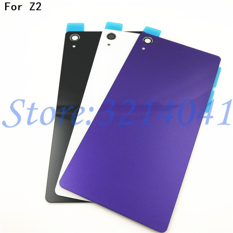 best sneakers df4d6 6f560 5.2 inches Rear Z2 Battery Back Cover For Sony Xperia Z2 D6543 L50W D6503  Battery Door Back Case With NFC