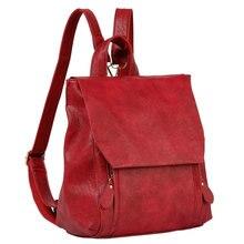 Новый Мода 2017 г. Для женщин рюкзак искусственная кожа опрятный женская сумка дорожная Для женщин Рюкзаки для Ipad-подростков Обувь для девочек Школьные сумки