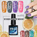 Dimond Modelones 3D Glitter Unhas de Gel UV Da Arte Do Prego Manicure Estrela & Moon Gel prego Laca Embeber Off Top Base de Gel Polonês Maquiagem 10 ML
