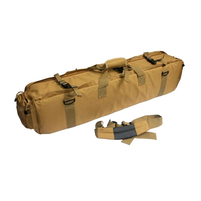 Military Airsoft Combat Carrying 1000D Nylon Case Tactical M249 Gun Bag Wholesale emerson 85cm tactical military paintball rifle carrying case bag nylon airsoft combat cs field dual gun bag for hunting sport