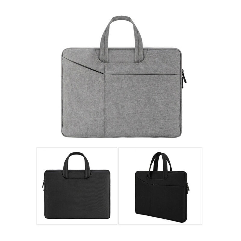 Waterproof Laptop Sleeve Case Bag For Macbook Lenovo Dell HP 13/15.6 In Notebook