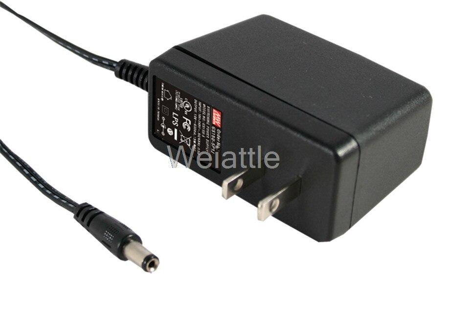 Moyenne bien original GS15U-2P1J 9 V 1.66A meanwell GS15U 9 V 15 W AC-DC adaptateur industrielMoyenne bien original GS15U-2P1J 9 V 1.66A meanwell GS15U 9 V 15 W AC-DC adaptateur industriel