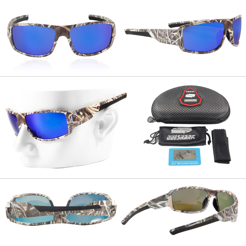 a7ad8d6f51 Camo Polarized Fishing Glasses Sports Eyewear Fishing Sunglasses Windproof  Goggles Hiking Glasses Cycling Bicycle Bike Glasses-in Fishing Eyewear from  ...