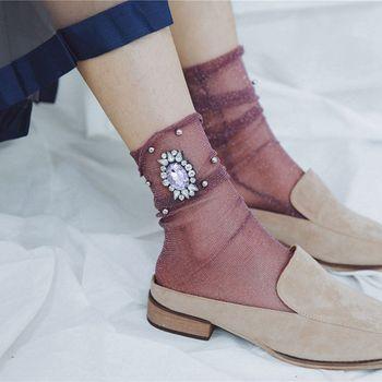 1Pair Fancy Summer Short Socks
