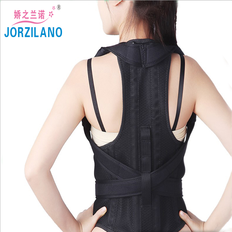 JORZILANO Unisex Adult Posture Corrector Orthopedic Belt Shoulder Support Brace Correct of the Spine Fixation straighten back