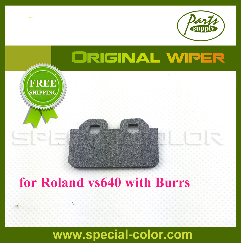 Original Printer Wiper for Roland VS640 Cleaning Wiper with Burrs original roland vs 640 vs 300 vs 420 vs 540 xf 640 re 640 piezo photo printer solvent wiper dx7 printhead wiper
