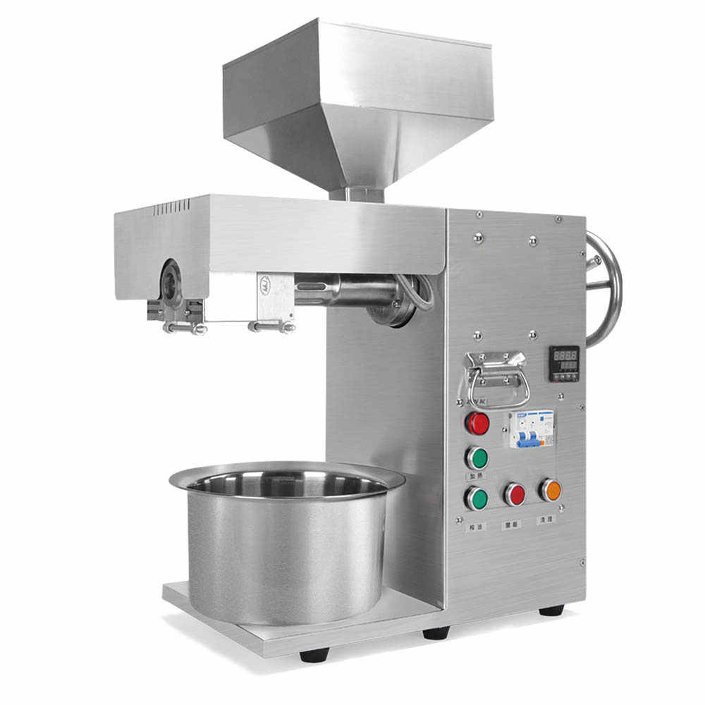 Temperature control oil extractor Commercial peanut sesame oil press Stainless steel Small Business Machinery Oil press machine