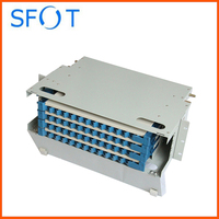 High quality. Fiber Optic 48 Core ODF Box. ( not inlcude adapter and pigtail)