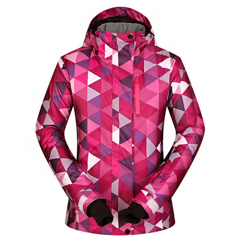 Ski Jackets Women Winter 2018 New Outdoor Windproof Waterproof Warm Thermal Hooded Coat Snow Skiing And Snowboard Jacket Brands цена