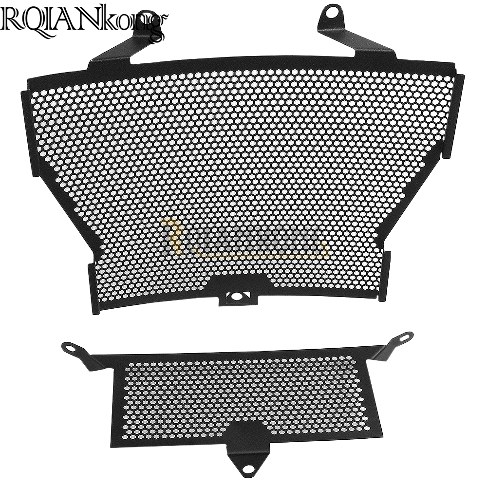 2017 Motorcycle Radiator Guard Grille Cover Stainless Steel Cooler Protector For BMW S1000R 2014-2017  S1000RR 2010-2017