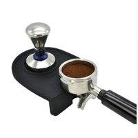 Manuelle Kaffee Silikon Pad Stampfen Matte Barista Kaffee Espresso Manipulation Latte Art Stift Tamper Halter Hause Kaffee Zubehör-in Kaffeestempel aus Heim und Garten bei
