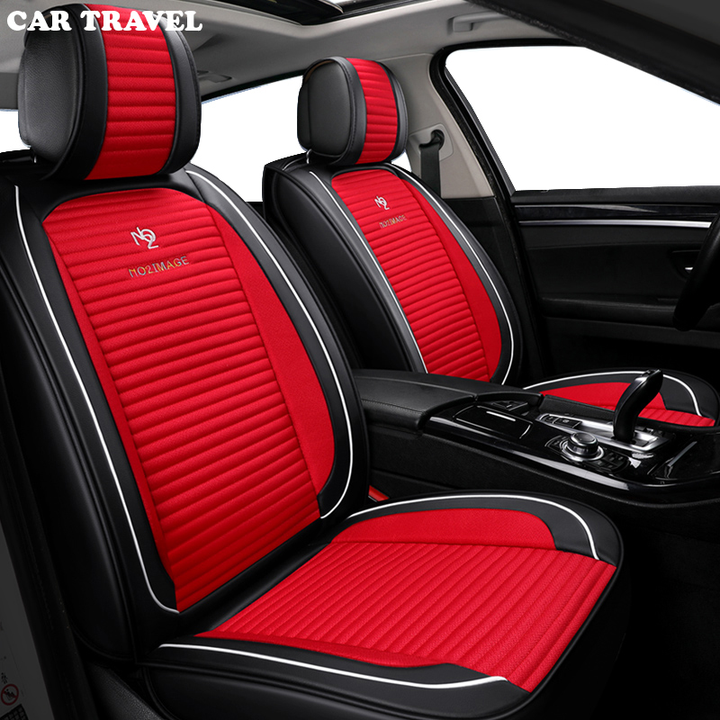 CAR TRAVEL car seat cover set for <font><b>audi</b></font> a3 8l 8p sedan <font><b>sportback</b></font> a4 b5 b6 b7 <font><b>b8</b></font> <font><b>a5</b></font> <font><b>b8</b></font> a6 c5 c6 c7 q2 q3 q5 q7 a6l auto accessorie image