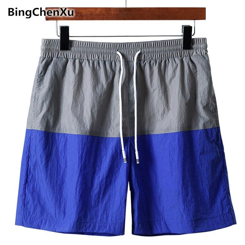 Bingchenxu Marke Männer Shorts Slim Fit Kurze Hose Fitness Bodybuilding Jogger Mens Durable Jogginghose Schnelle Trocknen Böden 706 Herrenbekleidung & Zubehör