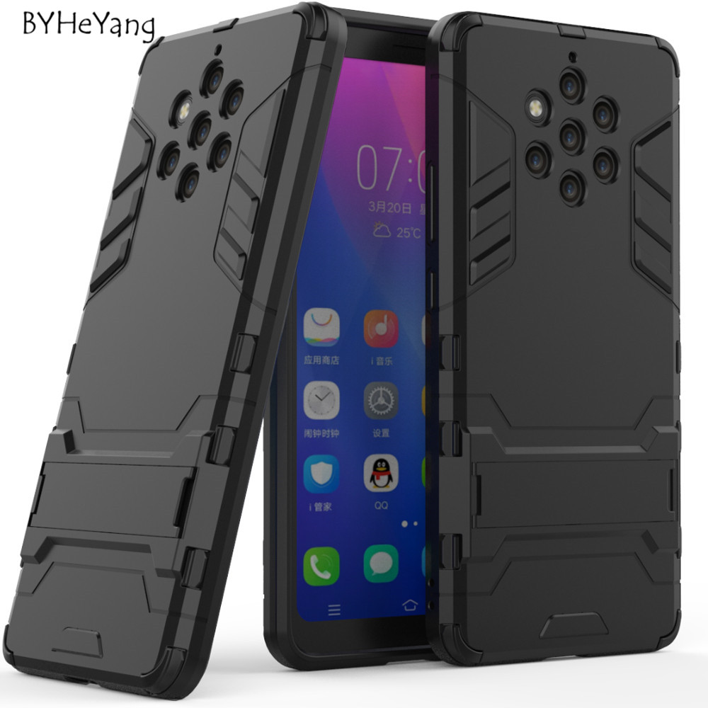 For Nokia 9 PureView Case for Nokia9 PureView Cover Anti-Knock Hard Plastic Robot Armor Back Case For Nokia 9 PureView TA-1094